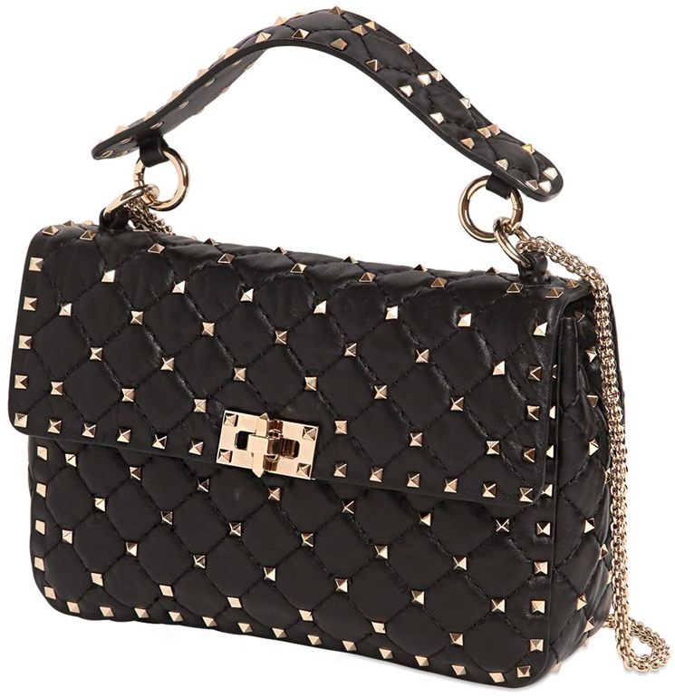 Сумка Rockstud Spike Small hand bag Valentino 51280
